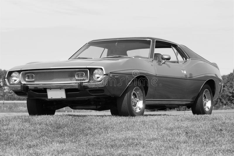Javelin. Picture of the amc javelin royalty free stock image
