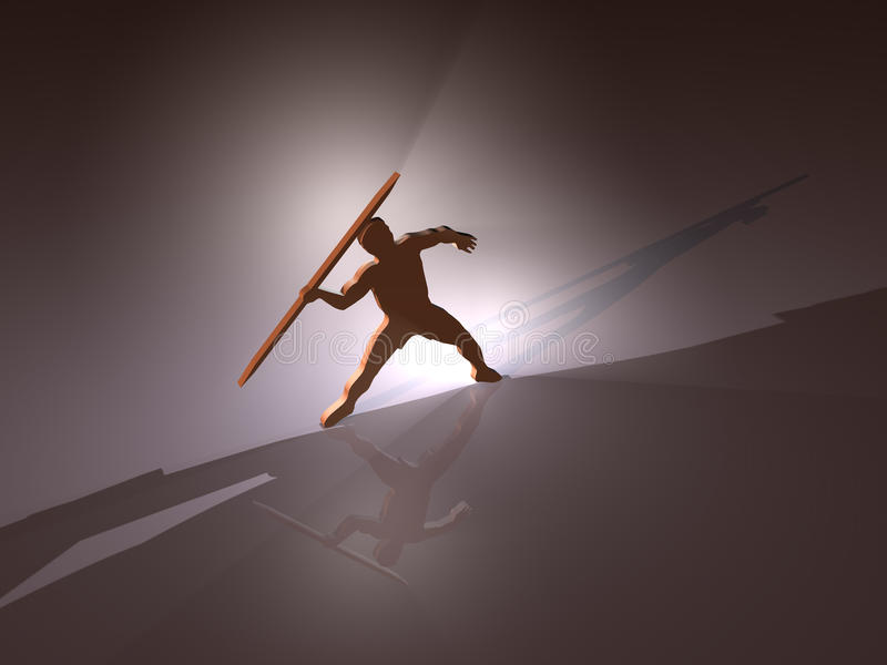 Download Javelin - Background - 3D Stock Photography - Image: 12340912