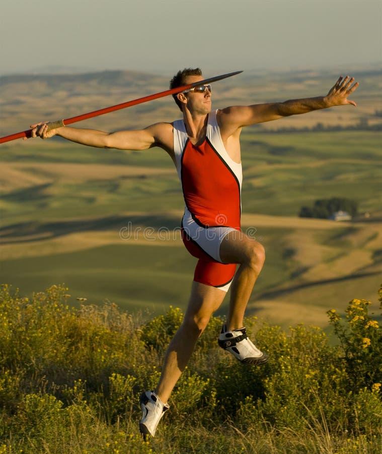 Download Javelin Thrower Stock Image - Image: 6879811