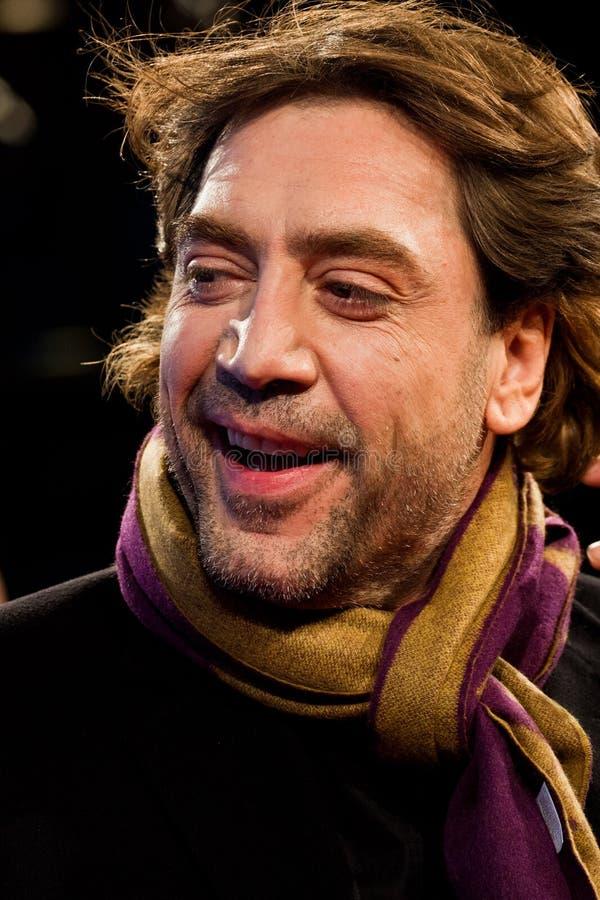 Javier Bardem in Berlinale 2012 stock foto's