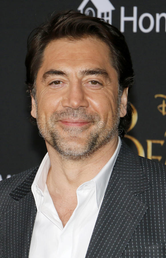 Javier Bardem. At the Los Angeles premiere of `Beauty And The Beast` held at the El Capitan Theatre in Hollywood, USA on March 2, 2017 stock images