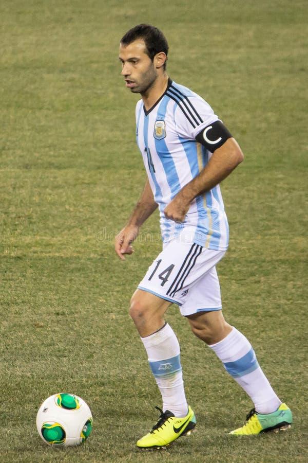 Javier Mascherano image libre de droits
