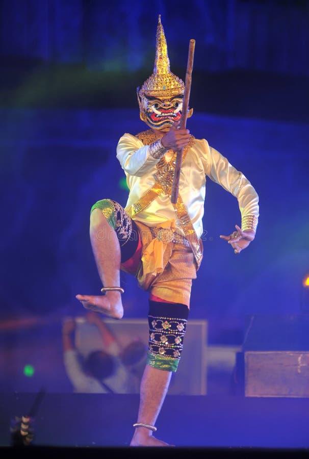 Jawajski Tradycyjny taniec obrazy royalty free