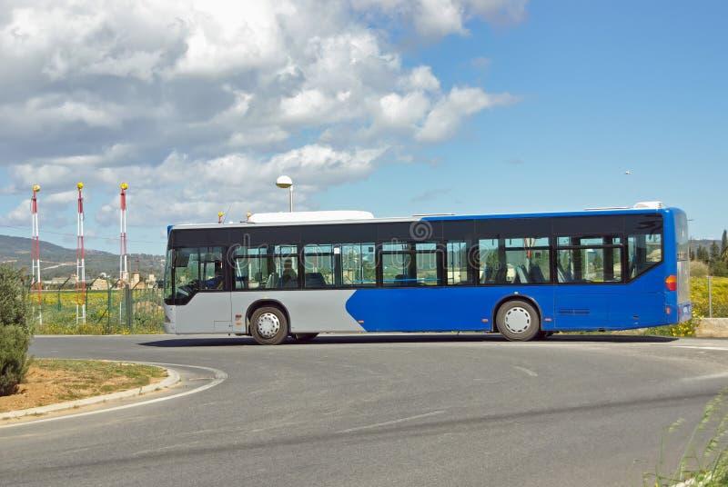 Jawnego transportu autobus fotografia royalty free