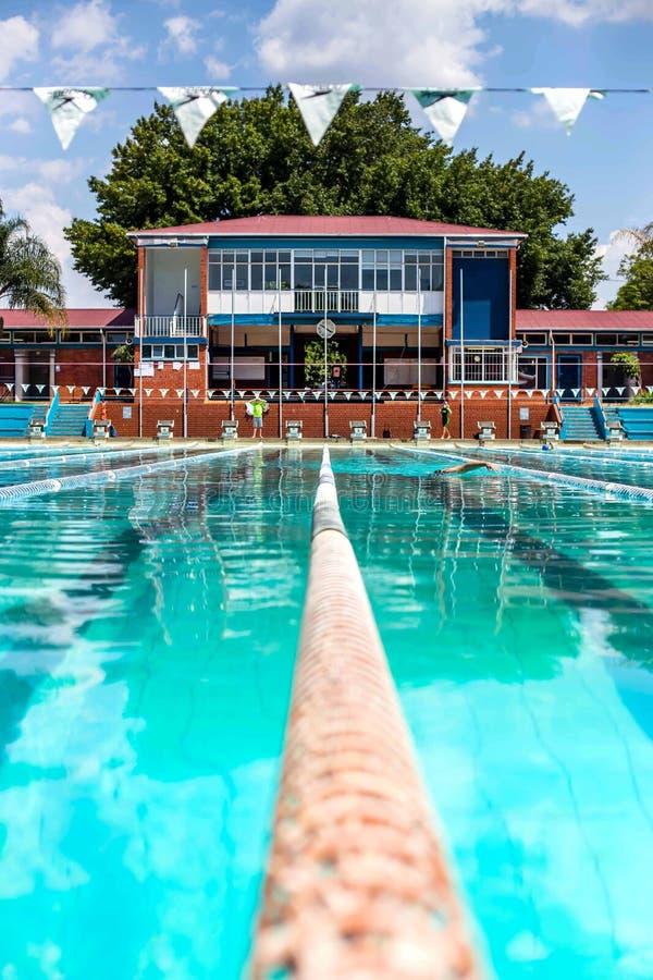 Jawny basen w Hatfield Pretoria 3 zdjęcie stock