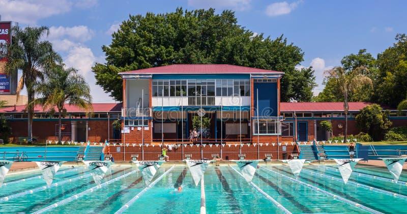 Jawny basen w Hatfield Pretoria 2 zdjęcie royalty free