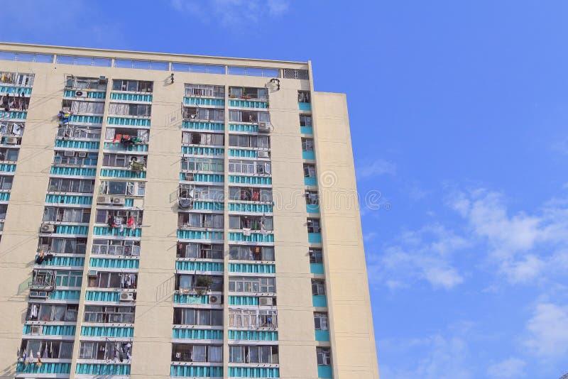 Jawny dom w HK 3 może 2014 zdjęcie royalty free