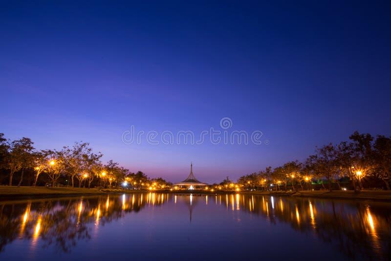Jawny park w Bangkok fotografia royalty free