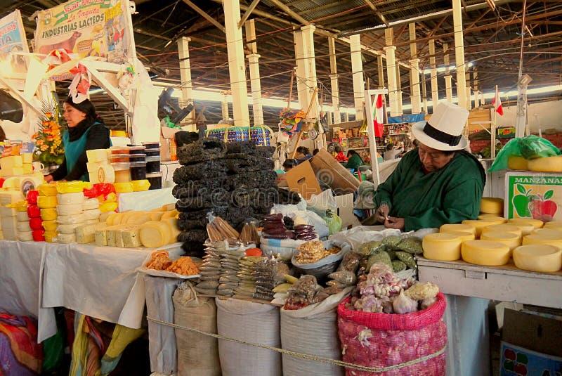 Jawny rynek, Cusco, Peru zdjęcie royalty free
