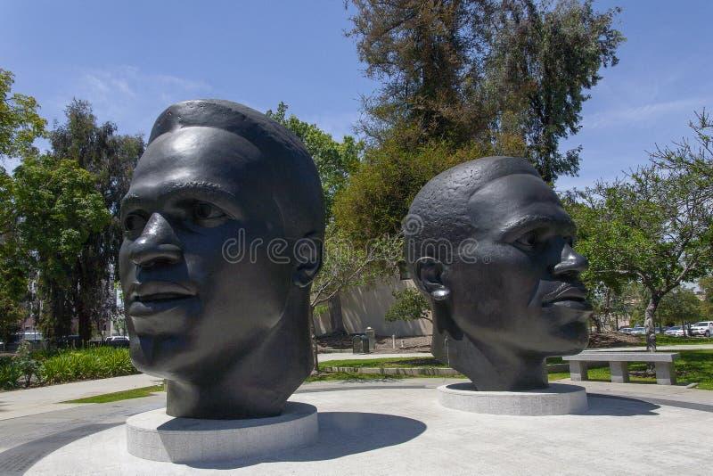 Jawny sztuki Pasadena Robinson pomnik obrazy royalty free