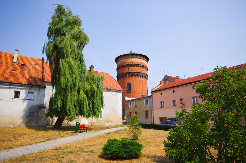 Download Jawor town in Poland stock photo. Image of lower, tower - 63445152