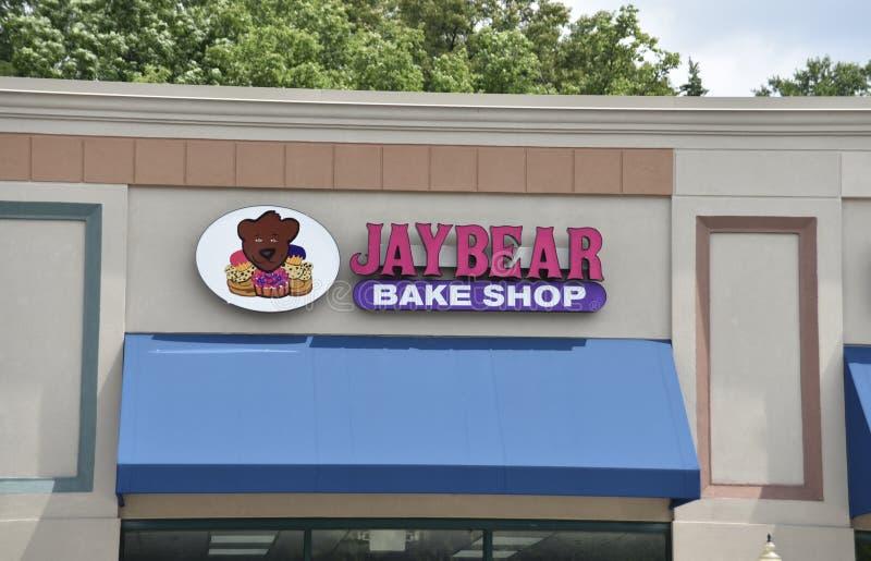 Jay Bear Bake Shop, Bartlett, TN stock foto