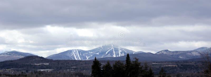 Jay Peak in Vermont lizenzfreie stockbilder