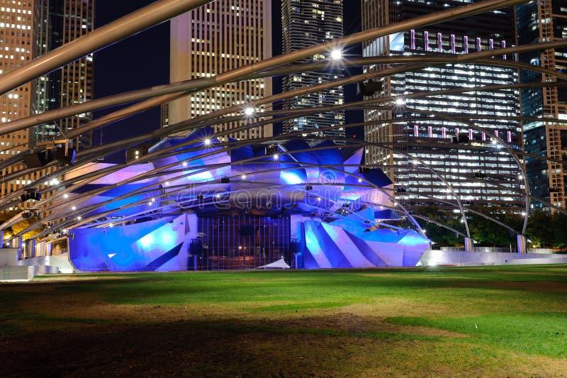 Jay Pritzker Pavilion photos stock