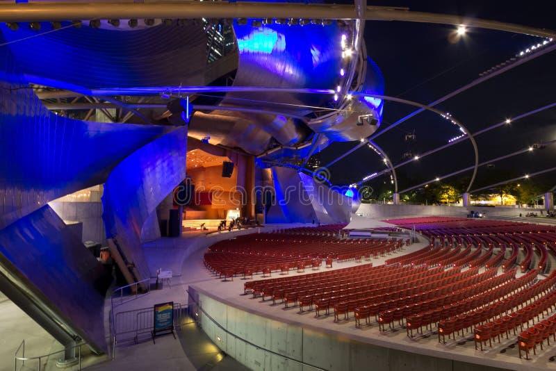 Jay Pritzker Pavilion image libre de droits