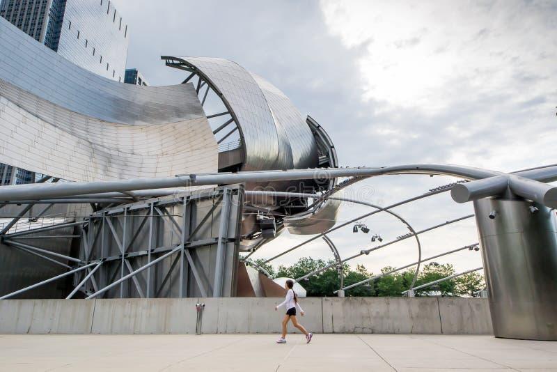 Jay Pritzker Pavilion photo stock