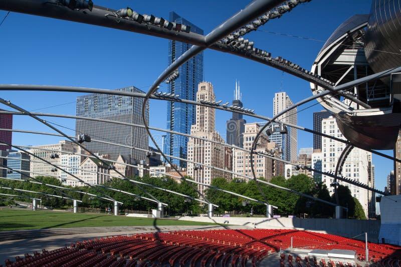 Download Jay Pritzker Pavilion In Millennium Park Editorial Stock Photo - Image: 33684883