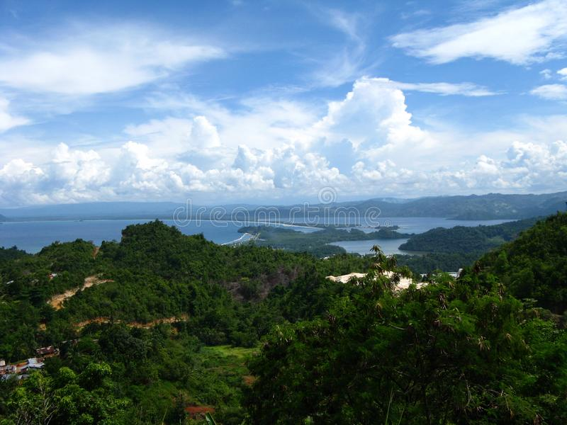 Jayapura Mountain View imagens de stock