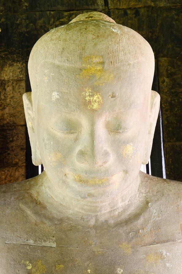 Free Jayavarman VII Staute In Phimai Stone Castle Royalty Free Stock Photography - 20698607