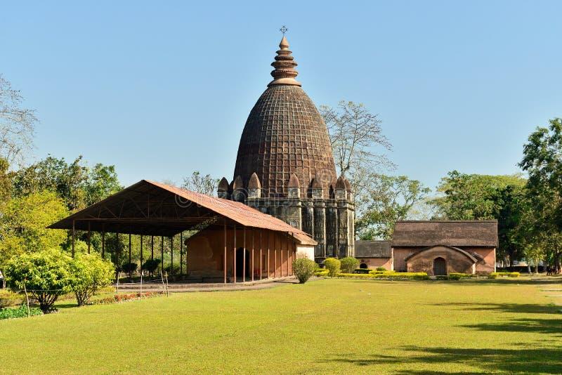 Jaysagar tempel, Sivasagar, Assam Indien royaltyfri bild