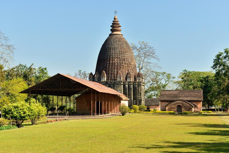 Jaysagartempel, Sivasagar, Assam India royalty-vrije stock afbeelding