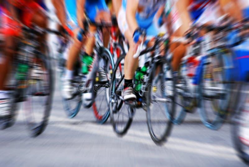 jazda na rowerze obrazy stock