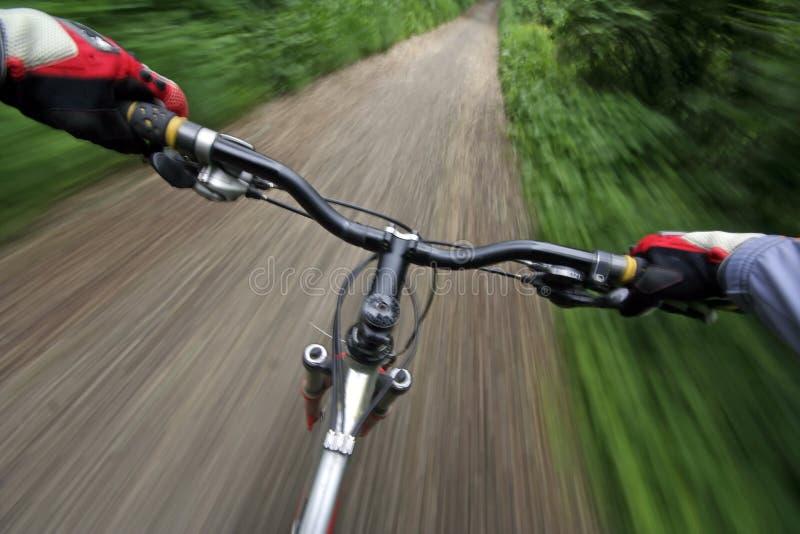 jazda na rowerze obrazy royalty free