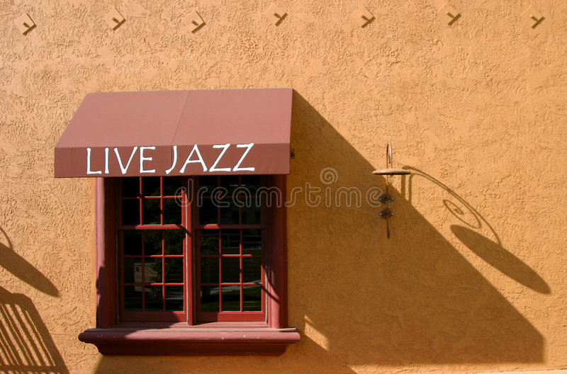 jazz żywy obrazy stock