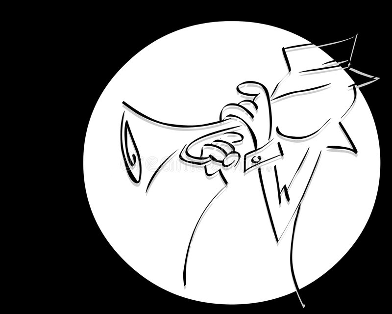 Jazz royalty illustrazione gratis