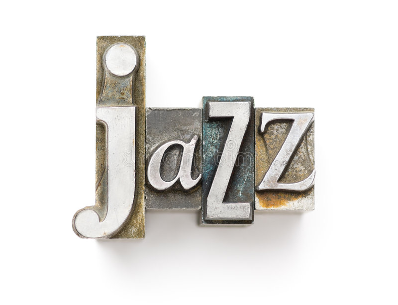 Jazz stockfotografie