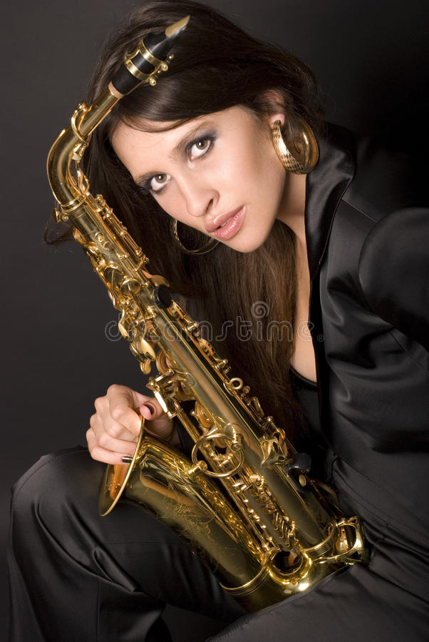 Jazz 9 royalty free stock image