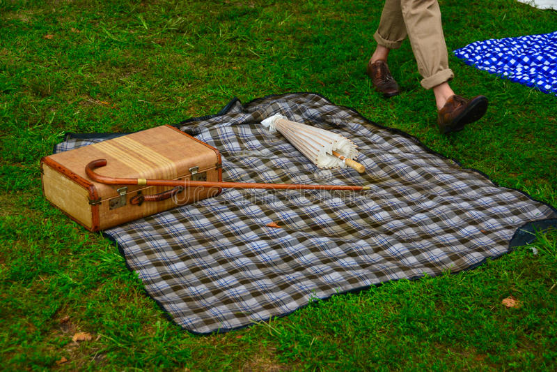 Jazz Age Lawn Party royalty-vrije stock afbeeldingen