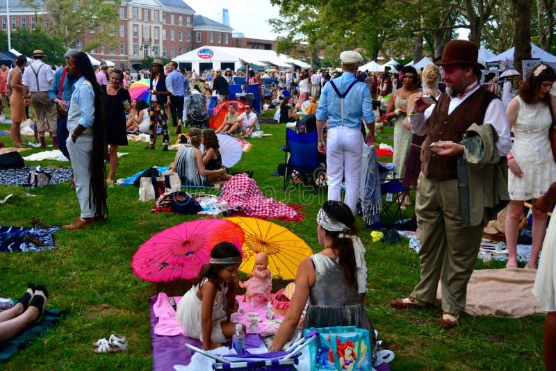 Jazz Age Lawn Party New York stockfotografie