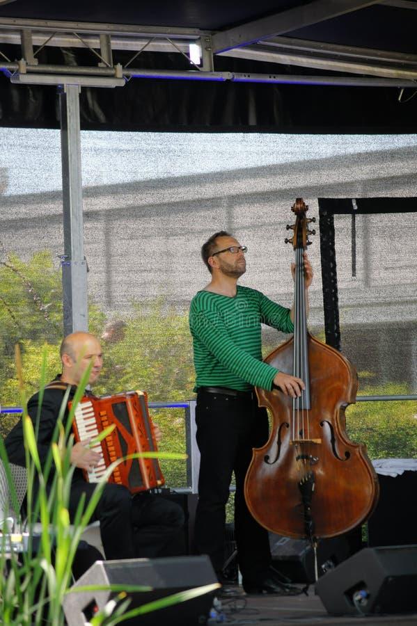 Jazz al festival di estate immagine stock libera da diritti