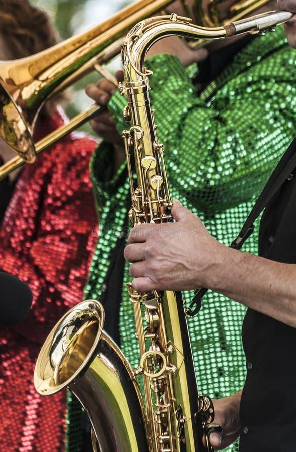 Jazz Band foto de stock