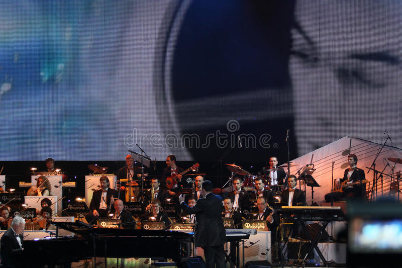 Jazz Band Fonograf Editorial Photography