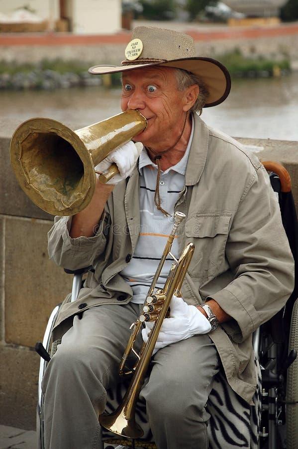 Jazz On The Charles Bridge photographie stock