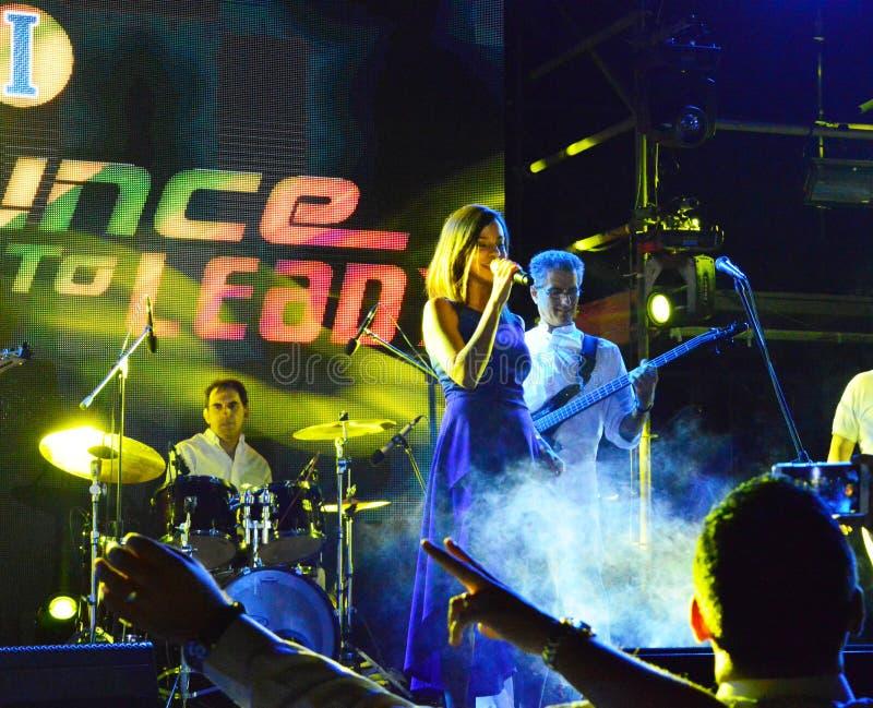 Jazz 2011 de Jakarta Java images stock
