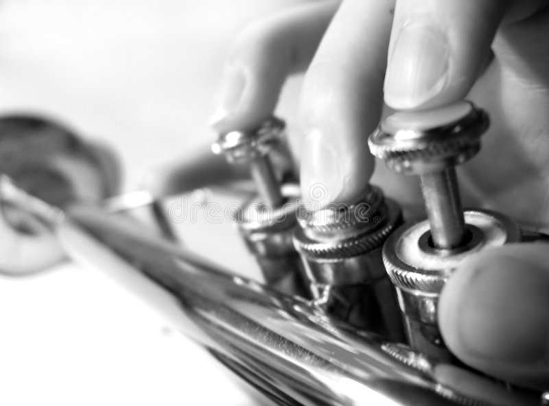 Jazz esso in su fotografie stock libere da diritti