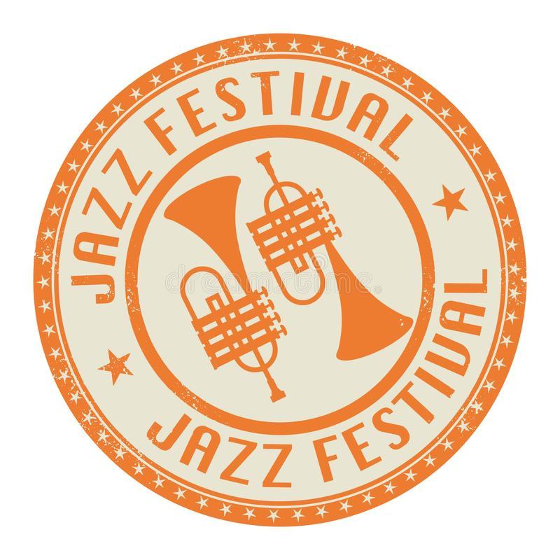 Jazz Festival royalty-vrije illustratie