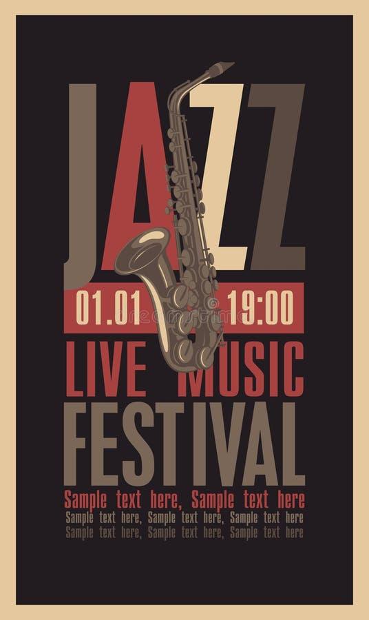 Jazz Festival illustration de vecteur