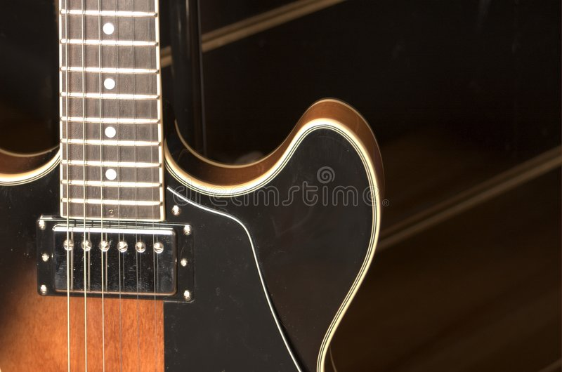 Jazz Guitar 1 royalty free stock photography