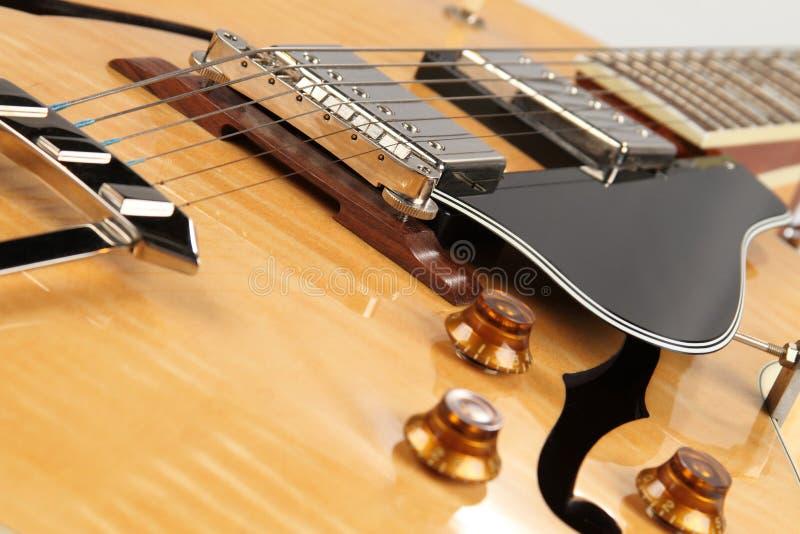 Jazz Guitar stock image