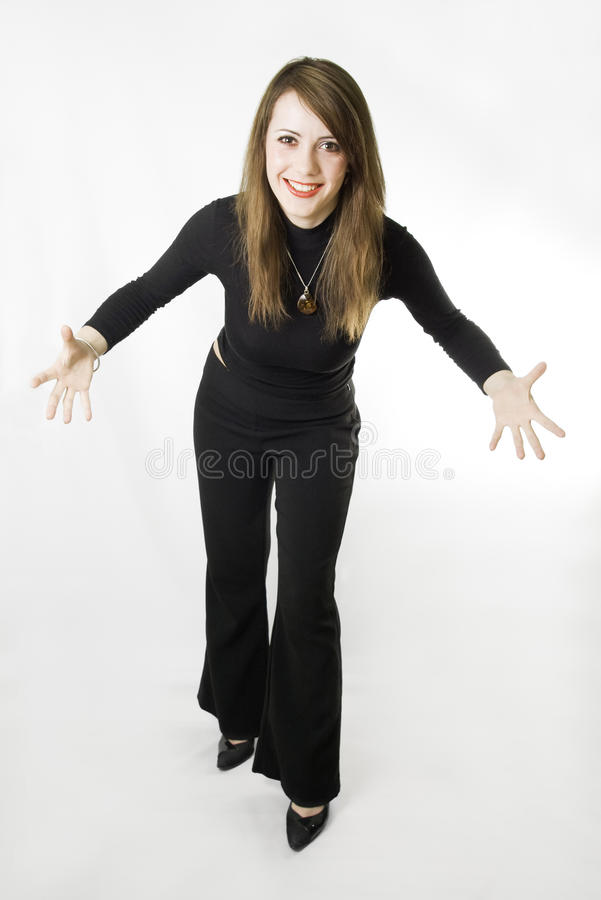 Jazz Hands. royalty free stock images