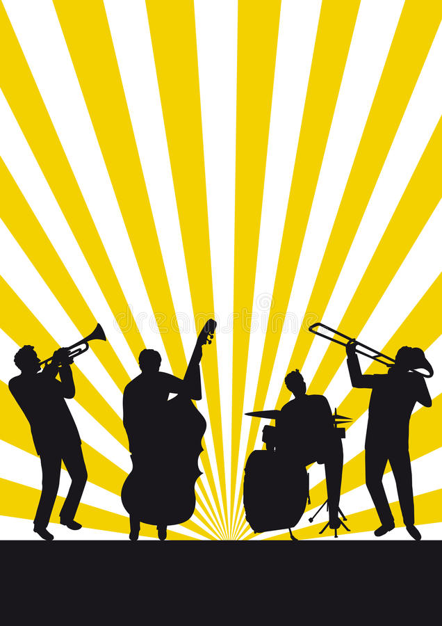 jazz który jest fotografia royalty free