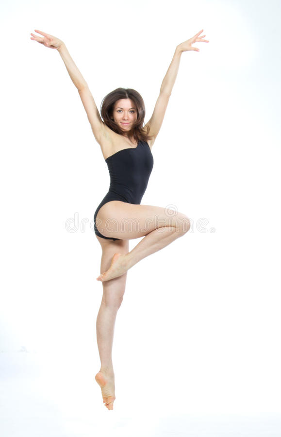 Download Jazz Modern  Woman Ballet Dancer Stock Photo - Image of moving, dance: 26639134