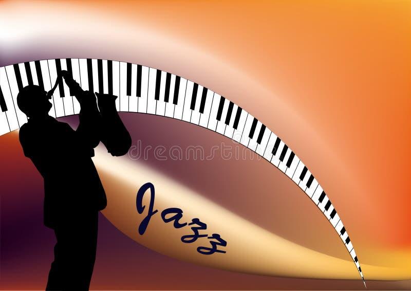 Jazz musician vector illustration