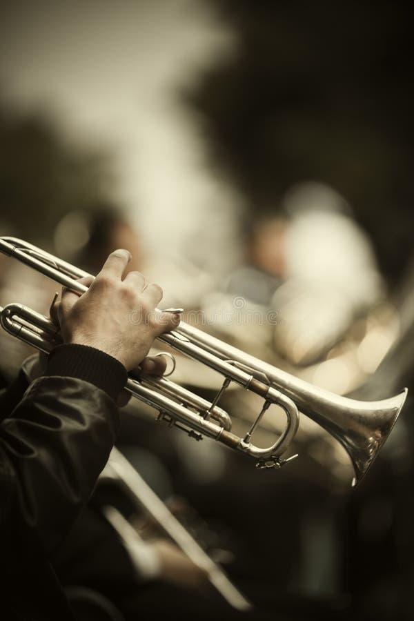 Jazz op de straat royalty-vrije stock foto's