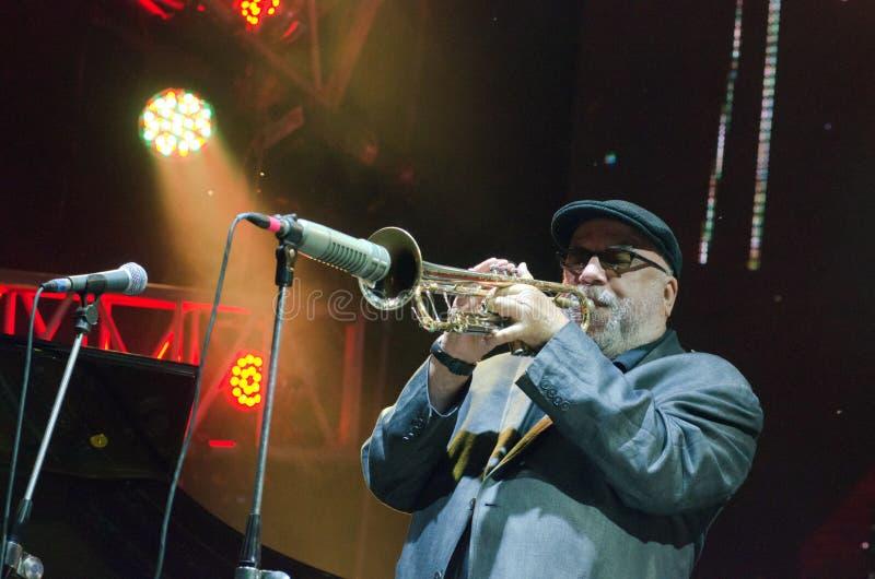 Jazz op Dnieper stock fotografie