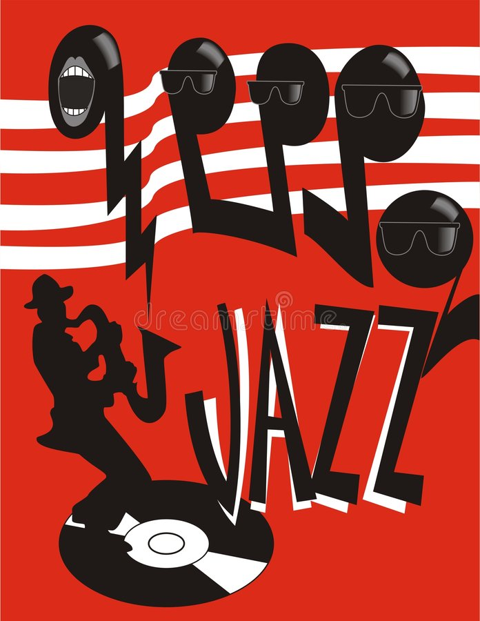 Free Jazz Poster Stock Photography - 1605202